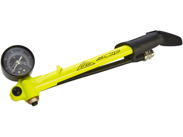 Azonic Fortress Shock Pump neon yellow